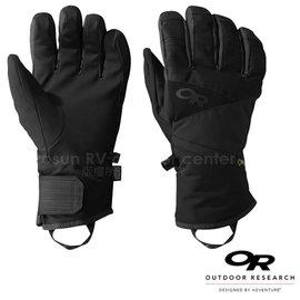 【美國 Outdoor Research】男款 Centurion Gore-tex 防水防風透氣保暖手套.滑雪手套.機車手套/EnduraLoft保暖纖維_黑 76125(243364)