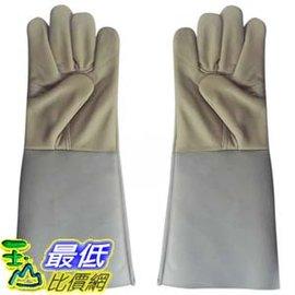 ^~玉山最低網^~ 加長牛皮電焊手套 耐磨 頭層 焊工作焊接 防護 隔熱^(_Z015^)