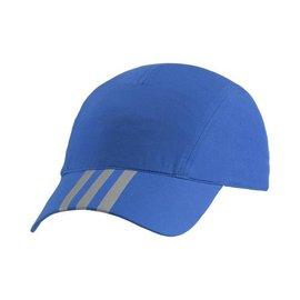Adidas~CLIMAlite系列 輕量 清涼 透氣 慢跑 路跑帽-藍 (AA5971)