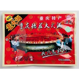 重慶 德莊麻辣老火鍋^(中辣^) 牛油麻辣鍋底 150克料理包^(清真^)~賽尚玩味市集~
