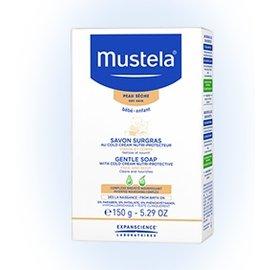新成分上市『GCH23-16』法國製 慕之恬廊 Mustela 冷霜滋養皂【含專利天然成份冷霜+牛油果活源醣、具滋養、補充脂質、舒緩】【150g】