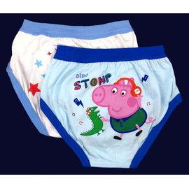 粉紅豬小妹 佩佩豬 Peppa Pig~男童內褲系列~2入