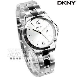 DKNY 紐約佳人都會腕錶 不�袗� 女錶 銀 NY2365