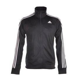 Adidas CLIMALITE 系列 針織 流行 休閒 運動 外套-黑 (S88116)