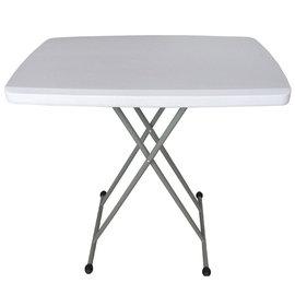 【免工具】寬76.5公分(桌面4.5公分厚)六段式可調整折疊桌/餐桌/便利桌/折合桌/野餐桌/露營桌(1入/組)-HL-SJ32-1