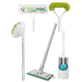 日本山崎Bathbon掃除清潔用品組合 內含5種掃除用具 綠色[ 普羅3C ]