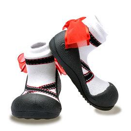 Attipas 快樂腳襪型學步鞋-芭蕾天使 (AB03)