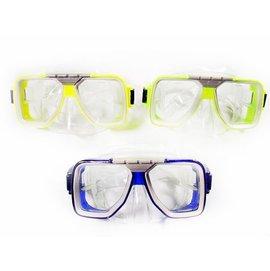 ~~蘋果戶外~~面鏡~PVC~雙眼 M01P 雙眼蛙鏡 面鏡 浮潛 潛水 護目鏡 水上活動