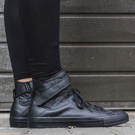 零碼出清~CONVERSE~Chuck Taylor Brea High 皮革 中筒帆布鞋(549583C)