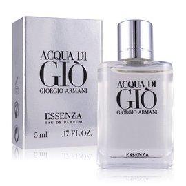 Giorgio Armani 亞曼尼 銀寄情水男性淡香精 香水空瓶分裝 5ML
