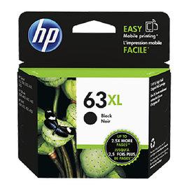 HP F6U64AA NO.63XL 黑色高容量墨水匣 HP DJ3630 DJ2180