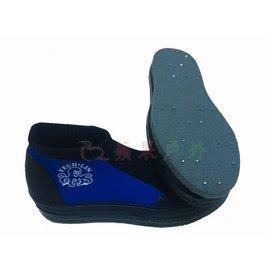 ~~蘋果戶外~~UL11 有釘短筒防滑鞋 有丁溯溪鞋 套鞋毛氈布底套鞋浮潛水朔溪鞋另售面鏡