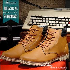 牛巴戈新裝 元素復古風格 雙彈力鞋墊高統休閒鞋~^(3色^)_采靚 鞋飾_MIT 製