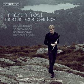 CD2123 馬丁.佛洛斯特  北歐豎笛協奏曲集 Martin Frost: Nordic