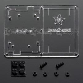 breadboard and Arduino 塑膠固定板 ~ 麵包板╱Arduino Un