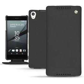 NOREVE Sony Xperia Z5 Premium 下掀式皮套 真皮 保護套 保護殼 手機殼 腰掛 手工訂製 法國頂級手機皮套 50種以上顏色