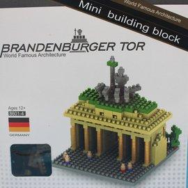 迷你積木 8601~4 德國勃蘭登堡門 世界主題建築系列積木 一個入^~促180^~布蘭登