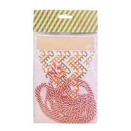 ~愛焙烘焙~ 韓式 三角彩旗 ^(16旗^) 生日派對 情人節 婚禮佈置~婚禮派對~西點材