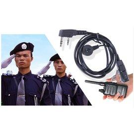 空氣導管 對講機 帶mic耳機 (K頭-降噪音防輻射)  [FIP-00001]