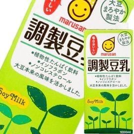 MARUSAN丸三調製豆乳^(1L^)^~ ^~