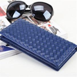 ^(喜番屋^)BV真皮頭層羊皮 編織女士大容量多卡位拉鍊皮夾皮包錢夾錢包手包手拿包手機包2
