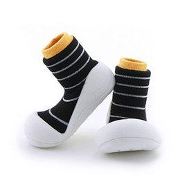 Attipas 快樂腳襪型學步鞋-香蕉牛奶 (ABU03)