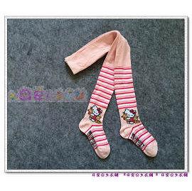 日安公主衣舖AC206^~ 原單 K.熊熊粉色條紋連褲襪 ^(98~104^) 獨碼