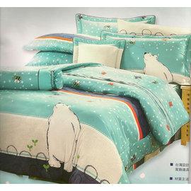 ~仙朵拉~^~台製 寢飾系列^~可訂製精梳棉 純棉厚包七件組 雙人5^~6.2尺