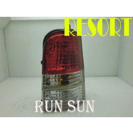 ~○RUN SUN 車燈 車材○~ 品 NISSAN 日產 RESORT 晶鑽紅白尾燈 價