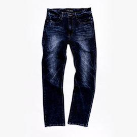 FATAN 石洗彈力窄直筒牛仔褲