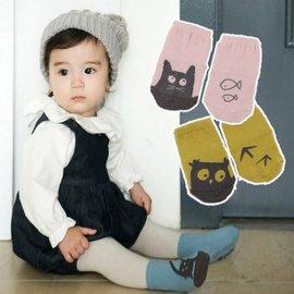 襪子 韓國新款全棉卡通不對稱兒童襪 嬰兒寶寶防滑卡通襪子【HH婦幼館】