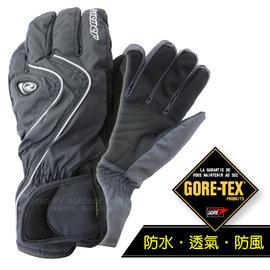 【德國 ZIENER】最新超薄 探險家 Gore-Tex 耐磨防水透氣手套(僅140g_保暖暢銷款)防風保暖.賞雪滑雪 登山健行.機車_灰 AR-42