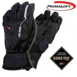 【德國 ZIENER】最新款 探險家 Gore-Tex + Primaloft 耐磨防水透氣手套(僅140g_保暖暢銷款)防風保暖.賞雪滑雪 登山健行.機車_黑 AR-62