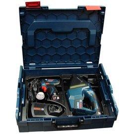 BOSCH 起子機GSB10.8-2-LI/吸塵器GAS10.8V-Li/系統工具箱136(中型)雙主機超值套裝組