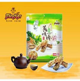 明奇餅乾~精彩宜蘭蔥明棒^(三星蔥口味^)  植物五辛素者可食 一箱^(12包入^)