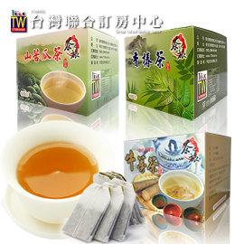 ►滋補養生 入冬保健好茶茶之旅養生茶3入499元 (任選苦瓜茶、香椿茶、牛蒡茶)