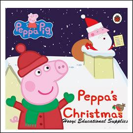 ~聖誕節繪本~~Peppa Pig 粉紅豬小妹系列~Peppa s Christmas