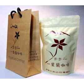 新店鋪 ◆一葉蘭咖啡◆半磅咖啡豆裝新鮮烘焙 咖啡莊園位於屏東縣泰武鄉北大武山海拔約1100