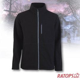 【瑞多仕-RATOPS】男款 DINTEX 抗風防水透氣夾克.輕量保暖外套/ 質輕保暖.舒適透氣.易清洗 / DH6130 正黑色