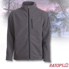 【瑞多仕-RATOPS】男款 DINTEX 抗風防水透氣夾克.輕量保暖外套/ 質輕保暖.舒適透氣.易清洗 / DH6131 岩褐色