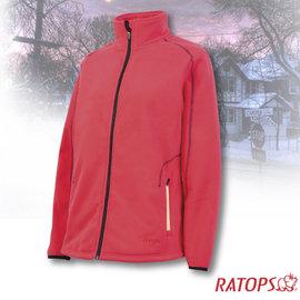 【瑞多仕-RATOPS】女款 DINTEX 抗風防水透氣夾克.輕量保暖外套/ 質輕保暖.舒適透氣.易清洗 / DH6137 櫻紅色