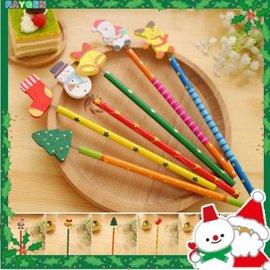文具 聖誕節 交換禮物 創意兒童文具 卡通木製鉛筆 學生獎品 造型鉛筆【HH婦幼館】