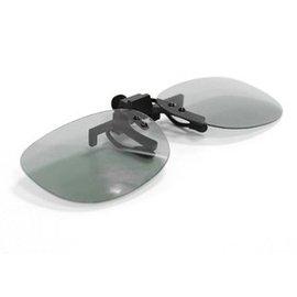 不閃式 圓偏光3D眼鏡/適用家庭普通3D電視 **近視夾片**