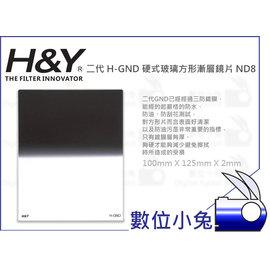 小兔 ~H  Y  H~GND 硬式 Hard 玻璃方形漸層鏡片 ND8~ND0.9 減光