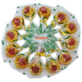 【吉嘉食品】小貝京-小梅心麥芽棒棒糖 600公克95元,另售梅心糖,無籽黑糖話梅{6184-5:600}
