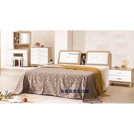 ~奇威居家 館 ~~E16118~5~金詩涵6尺雙人床  傢俱請洽詢免 專案