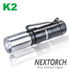 【NEXTORCH】暢銷款 CREE LED 5段式高亮度防水戰術型手電筒(65流明.32g 含S.O.S求救信號)6061-T6 航太強化鋁合金.適登山自助旅行/ K2