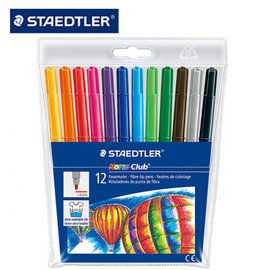 施德樓 MS325WP12 快樂學園水易洗彩色筆12色  組