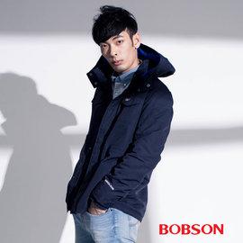 ~BOBSON~男款連帽防風外套^(35033~53^)