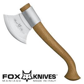 ~詮國~Fox 義大利狐狸牌 ~ 義大利戰斧 ^(原木紅木柄^) FOX~682M